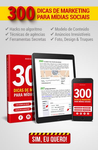 E-book » 300 Dicas de Marketing para Midias Sociais (Isack Wesller)