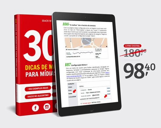 300 Dicas de Marketing para Mídias Sociais (Livro Digital - Ebook) » Isack Wesller